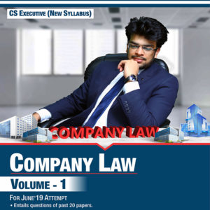 CS Executive – Company Law Book
