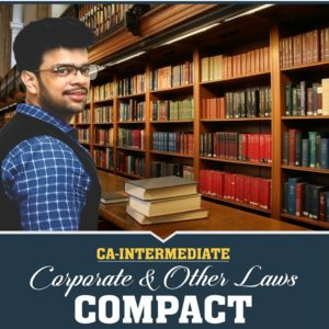 CA Intermediate – Corporate & Other Laws + Compact – May 2020
